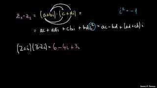 Množenje kompleksnih števil