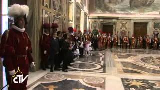 Pope to Swiss Guard: The person, not the uniform, counts