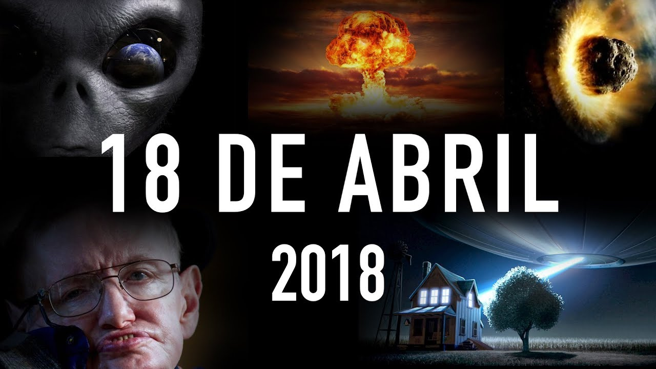 ver online 18 de Abril 2018 - Stephen Hawking, Aliens y el fin del mundo
