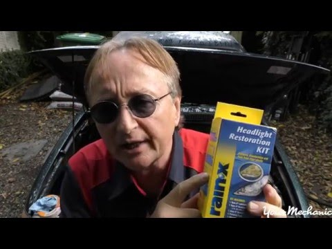 How To Restore Car Headlights with Scotty Kilmer