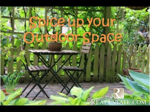 Spice up Your Patio Decorating Tips from RealEstate.com