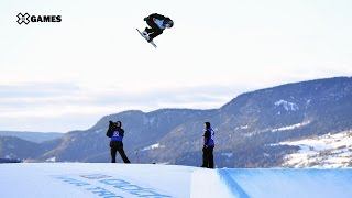 Jamie Anderson wins Women's Snowboard Slopestyle silver | X Games Norway 2017