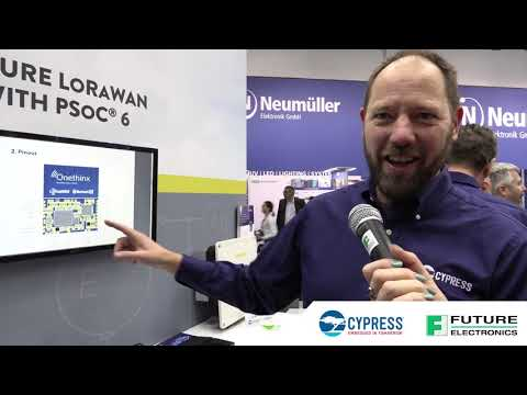 Future Electronics at Electronica 2018:  The Cypress Semiconductor Booth