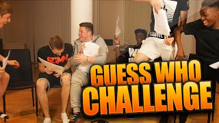 THE GUESS WHO CHALLENGE!