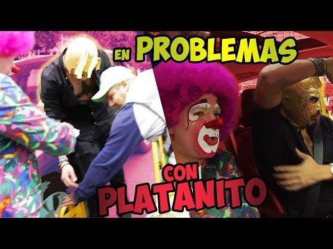PLATANITO & SuperEscorpión Al Volante (Nos pusieron candado)