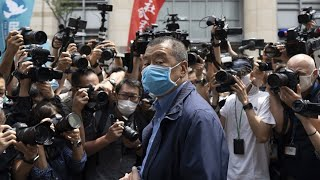 H.K. Arrests Jimmy Lai on Alleged Foreign Collusion: Daily