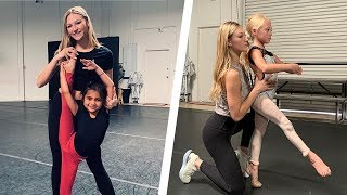 CRAZY FLEXIBLE DANCE MOVES BY 6 YEAR OLD BESTIES AND AMAZING TURNER AUTUMN MILLER!