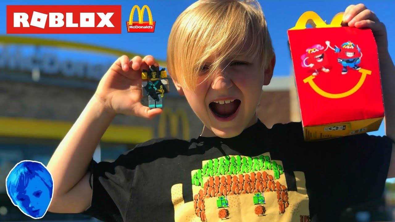 I Got A Roblox Toy In My Mcdonald S Happy Meal