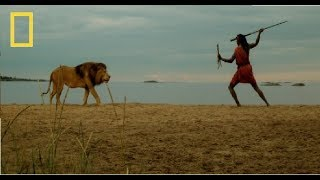 National Geographic - Facing the Lion: By Maasai Warriors - Documentary