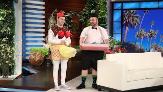 Average Andy's Banana Split Man Gets Reviewed by Fashion Critics