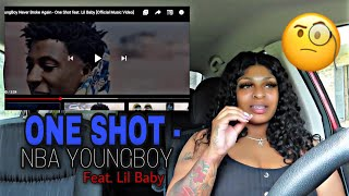 YoungBoy Never Broke Again - One Shot feat. Lil Baby [Official Music Video] REACTION