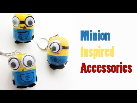 "How to make ""Despicable Me"" - ""Minion inspired accessories"""