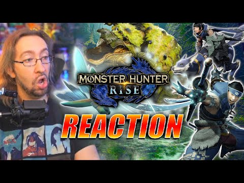 MAX REACTS: Nintendo Direct - Monster Hunter Rise, Ori on Switch, & More!