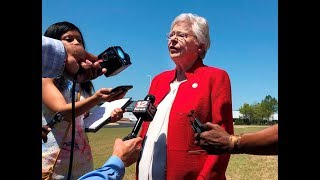 Alabama Governor Kay Ivey Signs U.S.'s Strictest Abortion Ban Into Law