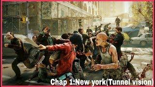 World War Z Walkthrough Gameplay Episode 1 New York Tunnel Vision  WWZ Game