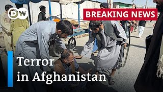 Afghanistan: Deadly blast hits packed Kandahar mosque, killing at least 32 | DW News