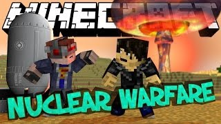 Minecraft Mod Showcase : NUCLEAR WARFARE (Rival Rebels) | Stealth Bomber, Plasma, Lasers & Rockets