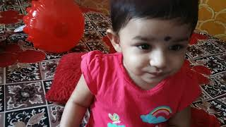 DAY 321 : Little baby girl drishta.....
