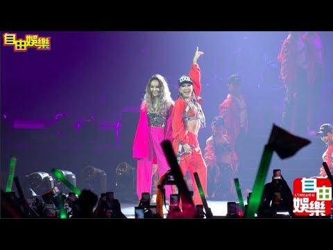 自由娛樂直擊》李玟演唱會邀神秘嘉賓Jolin同台尬舞!