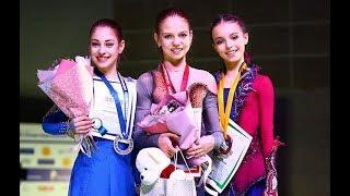 Figure Skating Russian Nationals 2019 Junior FS (Trusova,  Sherbakova, Kostornaia)