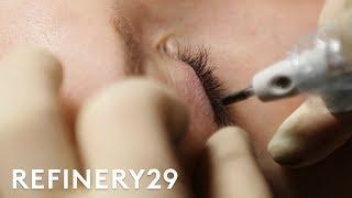 Why I Got My Eyeliner Tattooed | Macro Beauty | Refinery29