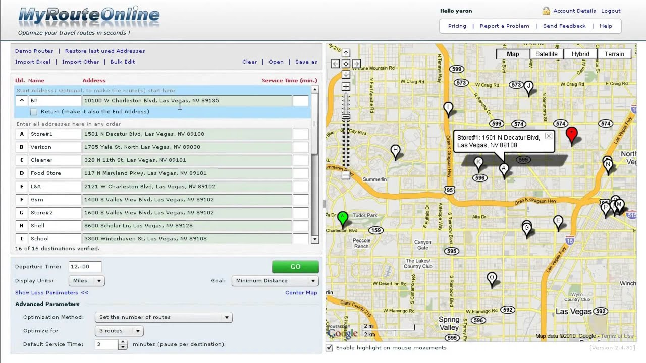 How Can I Optimize My Route On Route Planner Mapquest Help >> Route Planner Multiple Stops Driving Route Planner Driving