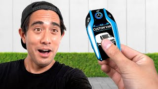 Surprising Zach King With A $70,000 Custom Sprinter Van - Tour