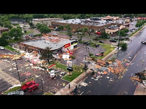 Sioux Falls Tornado Damage Update - 9/11/2019