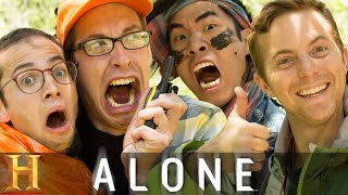 The Try Guys Try Not To Die Alone