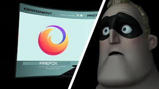 Mr. Incredible finds out about Oversimplified Logos