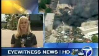 Fire at Universal Studios - June 1, 2008