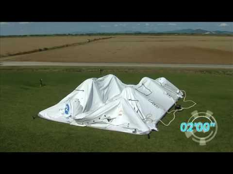 Надувной тент Losberger RDS, для спасателей, военных и медиков