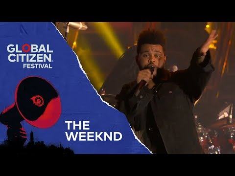 The Weeknd Performs I Can't Feel My Face and Secrets | Global Citizen Festival NYC 2018
