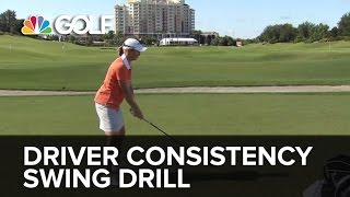Driver Consistency Swing Drill - SwingFix | Golf Channel