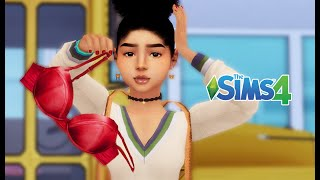 PUBERTY | HE STOLE MY BRA | SIMS 4 STORY