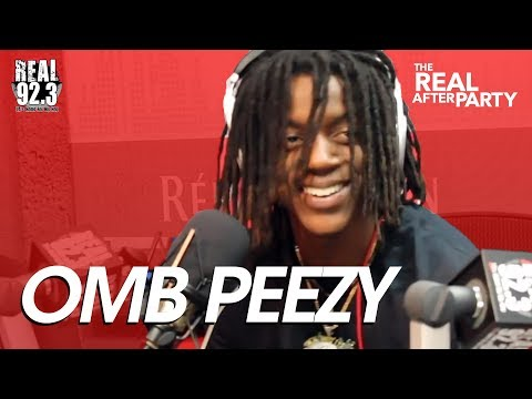 OMB Peezy Freestyle Over Meek Mill Beat on Real 92.3