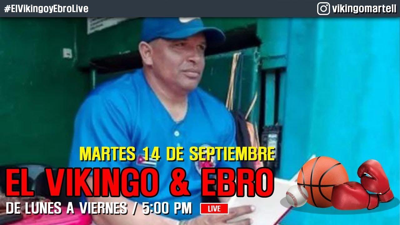 Hay que ser revolucionario para ser del equipo Cuba. Vikingo & Ebro LIVE