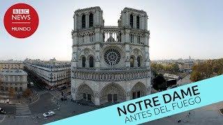 Notre Dame antes del incendio en 360º