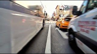 Hi-Speed Electric Skateboard Morning Ride