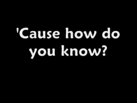 P.O.D - Tell me why - Lyrics