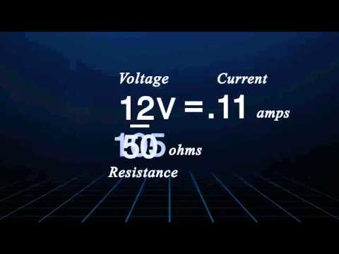 Ohm's law is a simple yet vital formula that explains the relationship between voltage, current, and resistance.