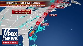 WATCH: Tracking Tropical Storm Isaias