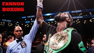 DEONTAY WILDER VS BREAZEALE PEAKS AT 990,000 ON SHOWTIME IN UNDER 3 MINUTES