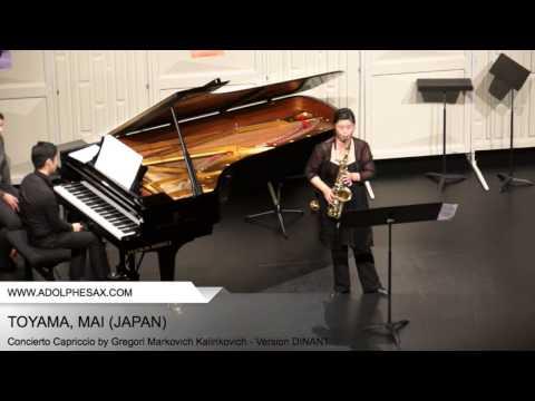 DINANT 2014 TOYAMA, MAI Concierto Capriccio by Gregori Markovich Kalinkovich Version DINANT