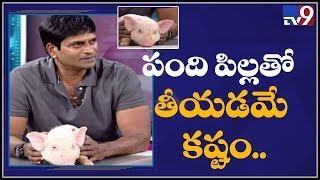 150 piglets used in 'Adhugo': Director Ravi Babu..