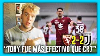 😱🇦🇷 ARGENTINO ELOGIA a 🇵🇾 TONNY SANABRIA vs JUVENTUS 2-2 🏆 *DOBLETE y FIGURA