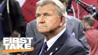First Take reacts to Mike Ditka's national anthem protest comments   First Take   ESPN