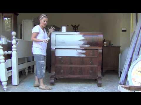 Blue Egg Brown Nest Annie Sloan Chalk Paint Tutorial 1