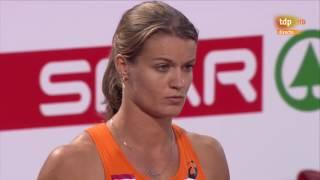 Final 100m Femenina Atletismo Cto. Europa Aire Libre Amsterdam 2016
