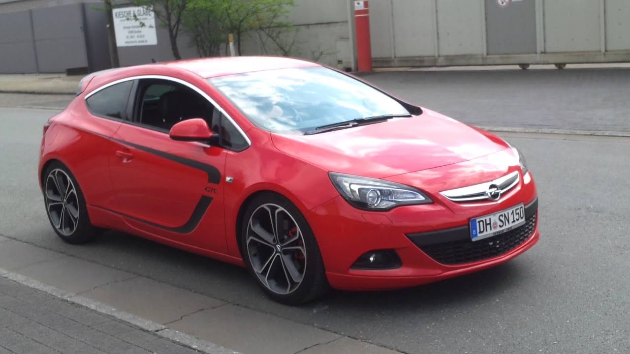 opel astra j gtc 1 4 turbo youtube. Black Bedroom Furniture Sets. Home Design Ideas